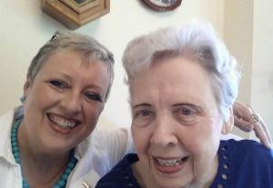Brenda & Janet in July, 2014.