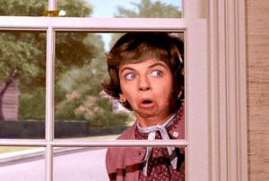 Glady Kravitz was the nosy neighbor on Bewitched, a 1960s sitcom.